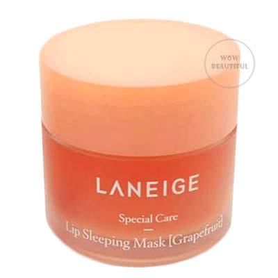 LANEIGE LIP SLEEPING MASK NEW SCENT #GRAPEFRUIT