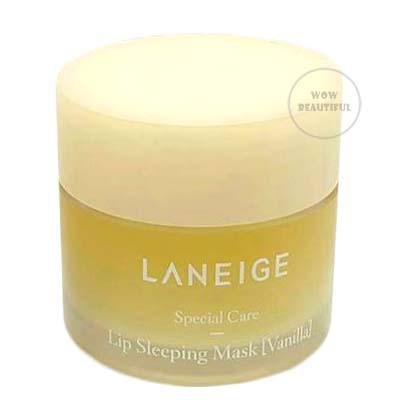 LANEIGE LIP SLEEPING MASK NEW SCENT #VANILLA